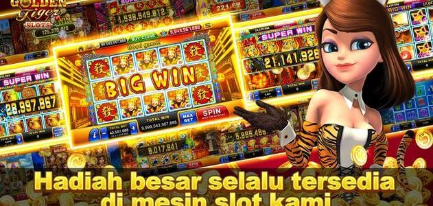 Jago Main Golden Tiger Slot!
